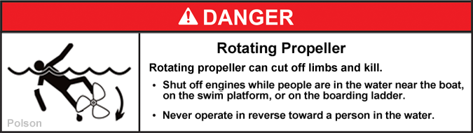 Suggested changes to ABYC consolidated helm propeller warning