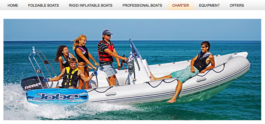 Brig Inflatable Boats ad from Spain