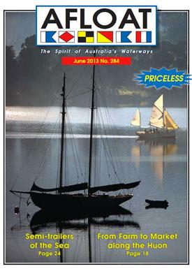 Afloat, June 2013 Cover