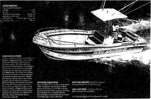 Correct Craft Nautique 1983 boat
