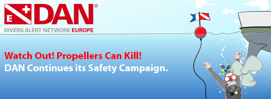 Dan Europe Propeller Safety Campaign