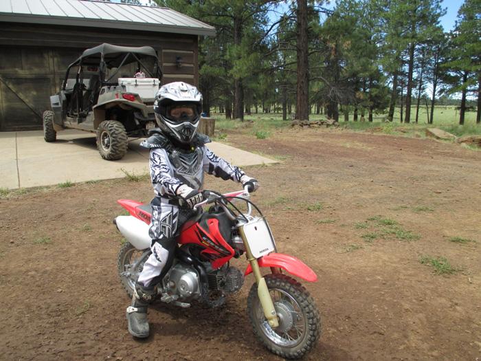 Dylan Darland on motorcycle racing-deZert image