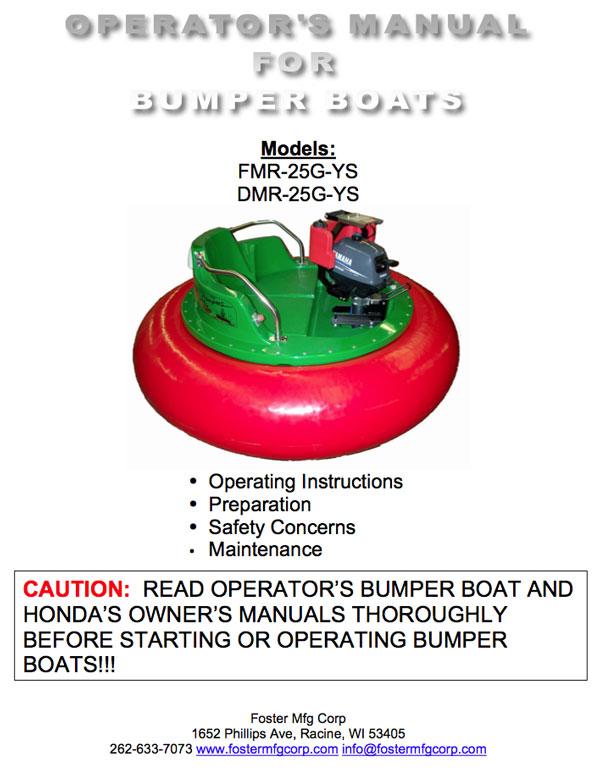 Foster Bumper Boat manual