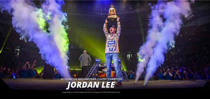 Jordan Lee winning 2018 Bassmaster Classic