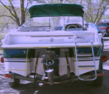 Listman Trial - Porsow Boat Stern View
