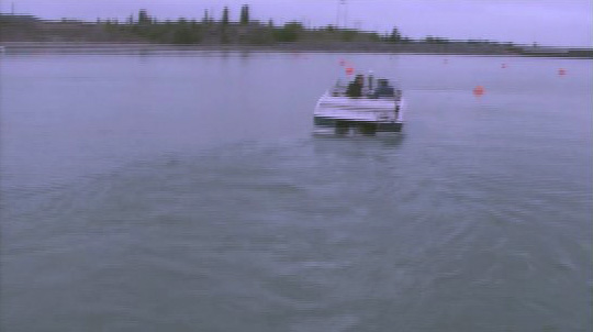 Listman Trial - Dr. Good backing boat with prop guard video