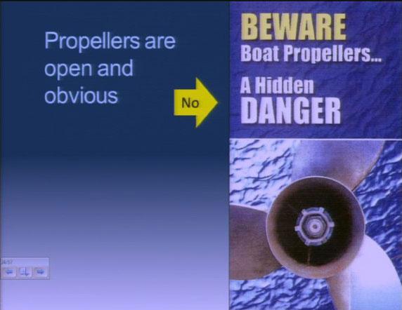 Listman Trial - Propeller Open & Obvious or Hidden Danger