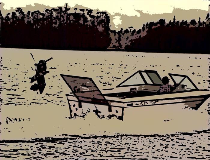 Log Strike Test on Lake X