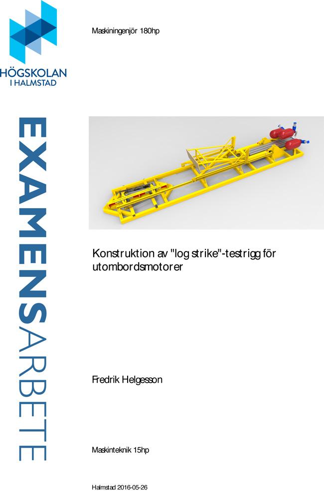 Log Strike Test Stand Design report