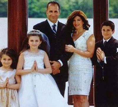 John Mansour and family