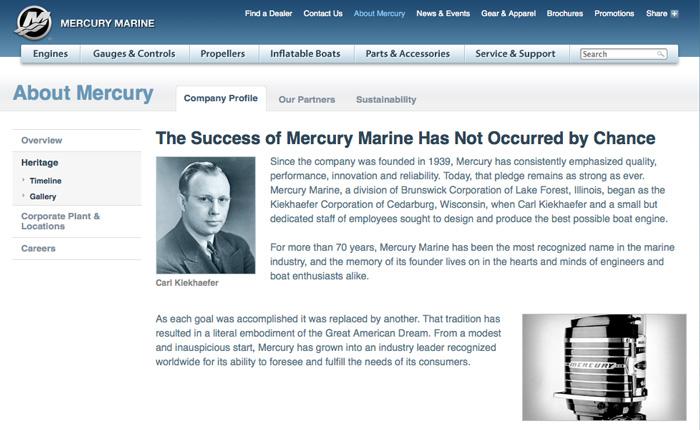 Mercury Marine Heritage