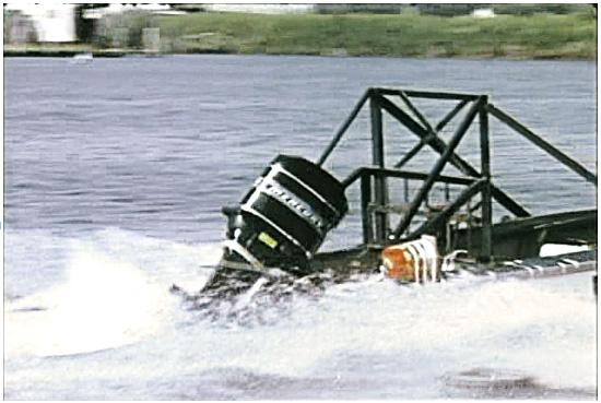 Mercury log strike test safety fence
