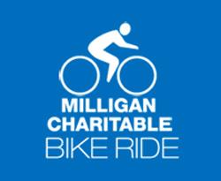 Milligan Charitable Bike Ride logo