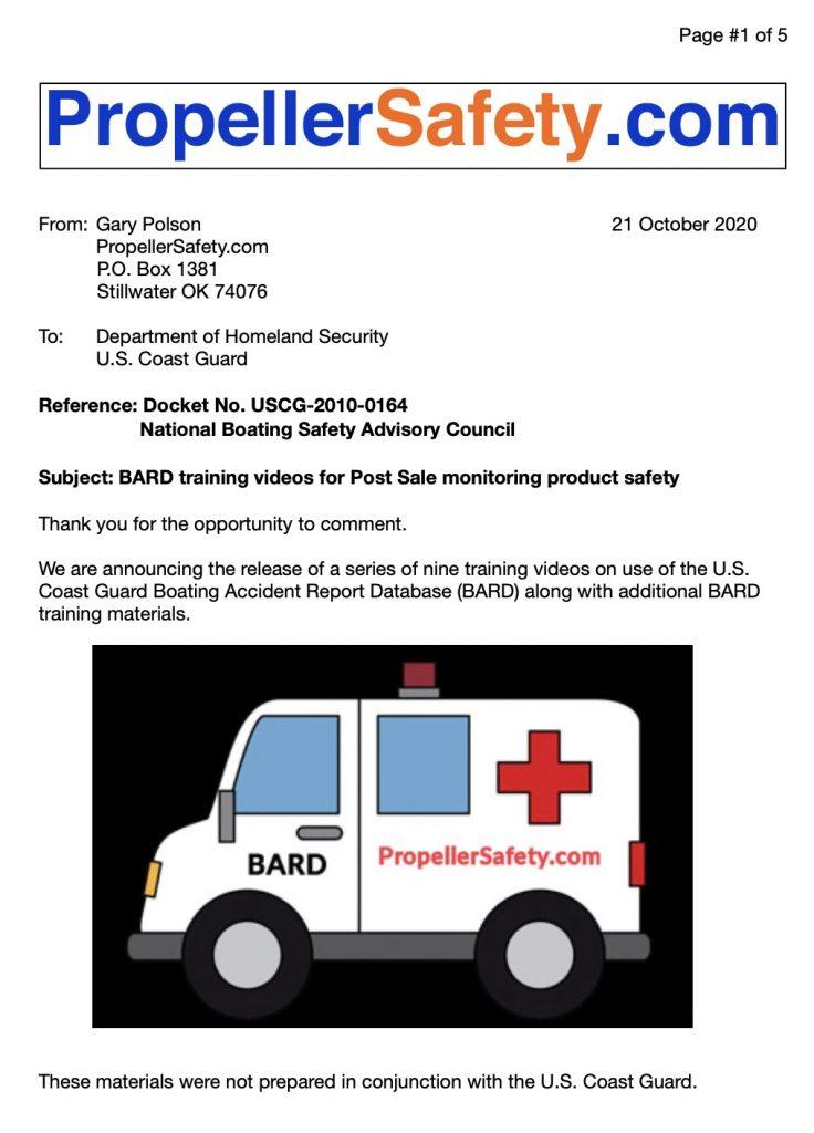 NBSAC BARD videos announced