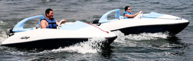 Disney Sea Raycer boat