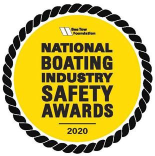 National Boating Industry Safety Awards 2020 emblem