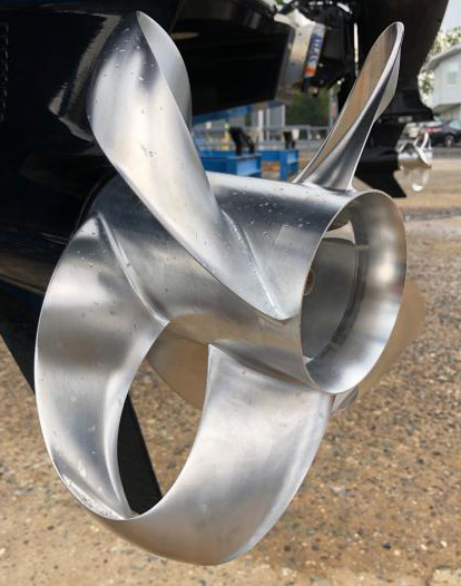 Sharrow Propeller image courtesy BoatTest