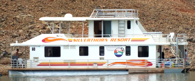 Silverthorn houseboat in Cioban case. photo from Defense Expert Captain Timmel's Rebuttal report