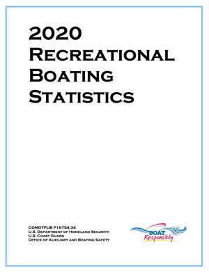 USCG Recreational Boating Statistics 2020