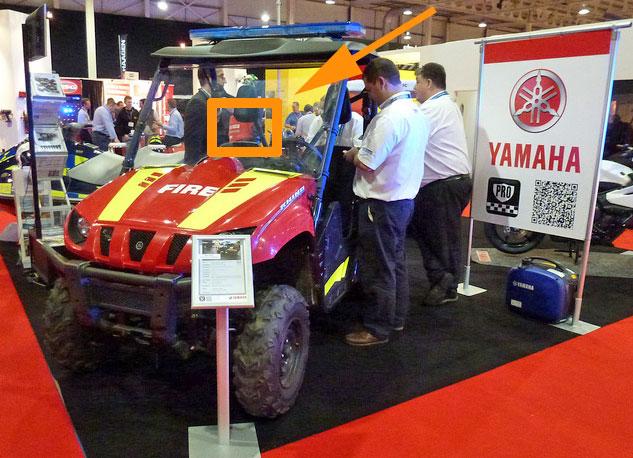 Yamaha ESS 2012 booth