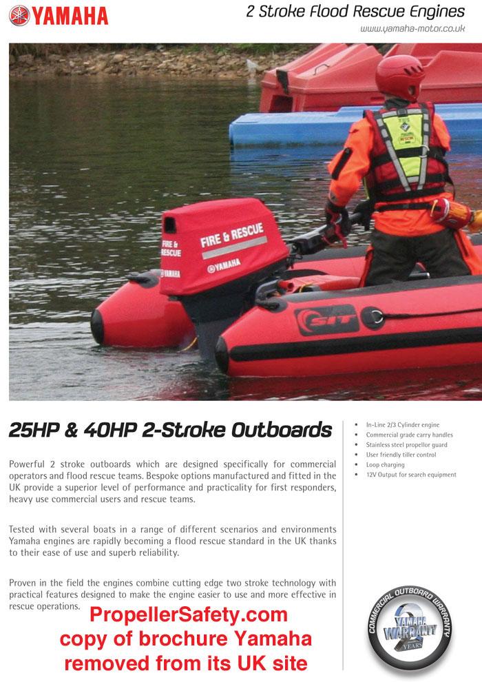 Yamaha Flood Rescue Outboard 1