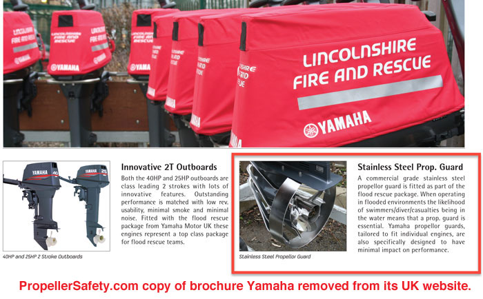 Yamaha Rescue Outboard 2